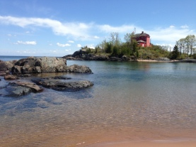 Serenity on the Big Lake at the Marquette Lighthouse/McCarty's Cove, Marquette