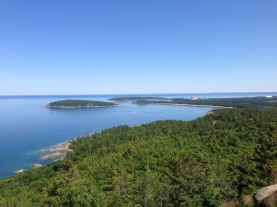 The view from atop Sugarloaf, Marquette