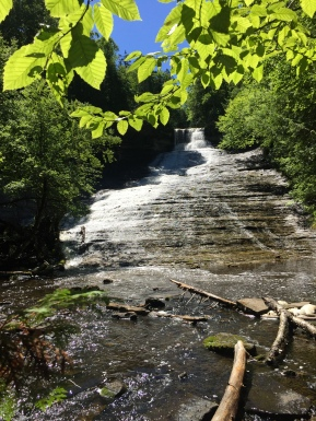 Laughing Whitefish Falls, Alger County