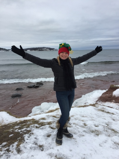 Merry Christmas from Presque Isle Park, Marquette!