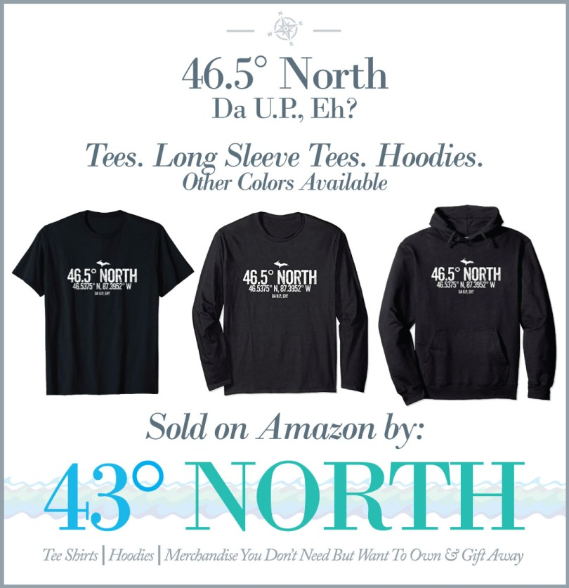 3625 x 375 ad--43 degrees north--amazon--465 degrees north design
