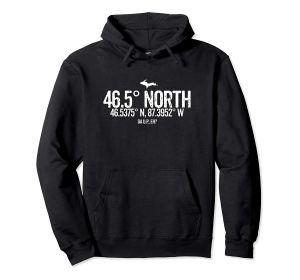 465 north hoodie black