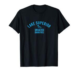 lake superior unsalted tee black