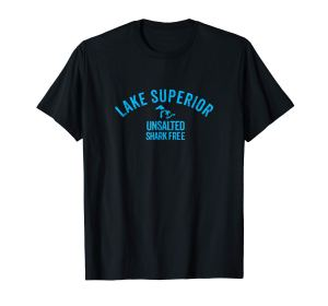 lake superior unsalted tee black